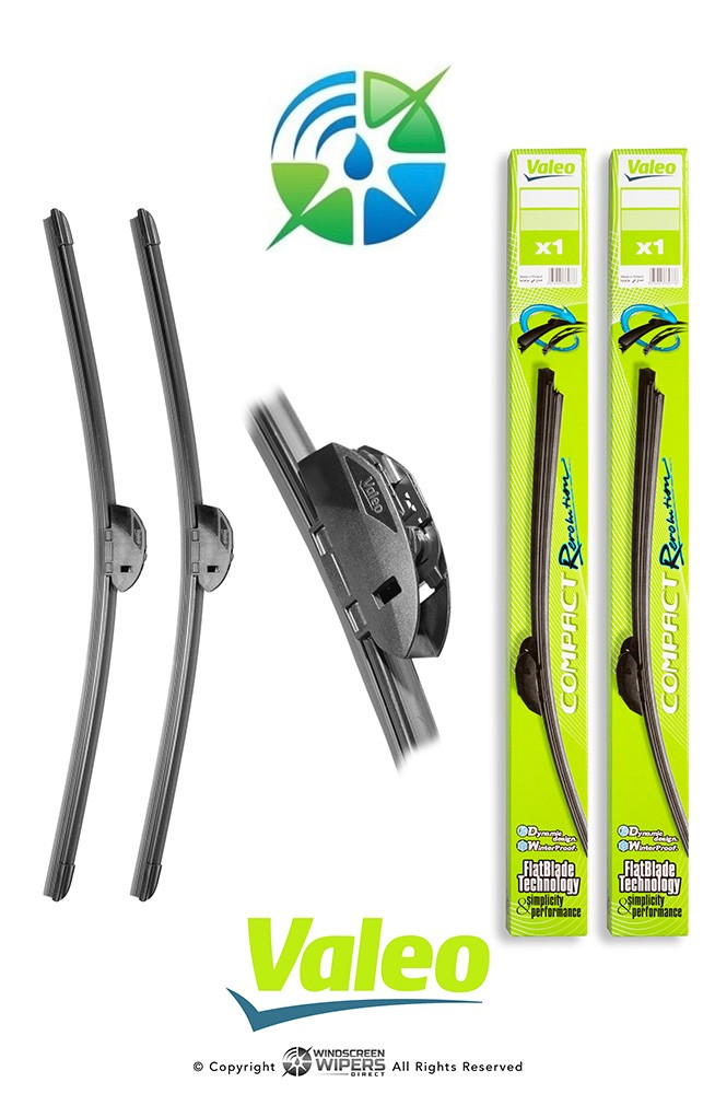 "R55/R53 Valeo Compact Revolution Retrofit Front Twin Pack 22""(550mm)/21""(530mm)"