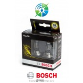W........Bosch Plus 90 H7 Headlamp Bulbs Twin Pack