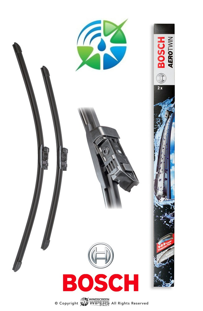 """A826S Bosch Aerotwin Twin Pack 24"""" (600mm) x 2"""