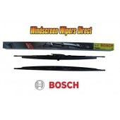"""657S Bosch Twin Pack 26"""" (650mm) x 2 with Spoiler & Spray Bar"""