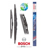 """SP24/20S Bosch Front Twin Pack 24""""600mm With Spoiler 20""""500mm"""